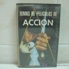 Casetes antiguos: TEMAS PELICULAS DE ACCION -CASSETTE. Lote 31416617