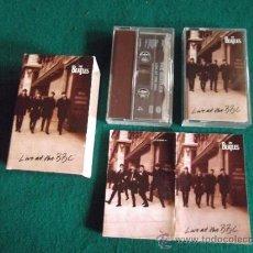 Casetes antiguos: THE BEATLES-'LIVE AT THE BBC'-DOBLE CASSETTE CON LIBRETO-EMI RECORD LTD 1994. Lote 31549178