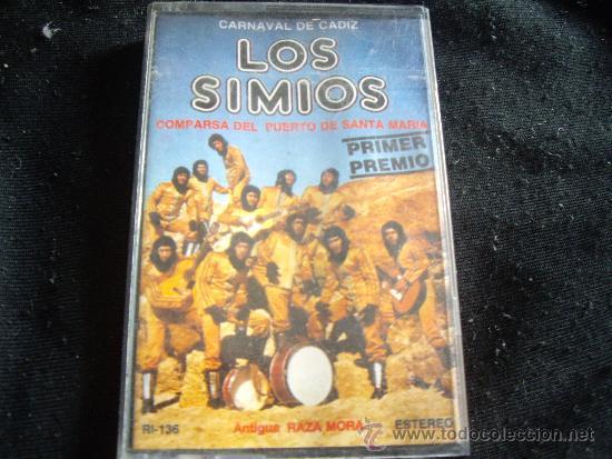 LOS SIMIOS-CARNAVAL DE CADIZ (Música - Casetes)