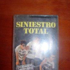 Casetes antiguos: SINIESTRO TOTAL GRANDES EXITOS DISCOS DRO. Lote 32276321