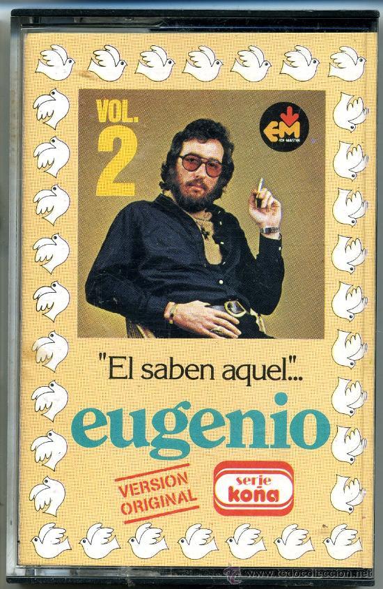 CHISTES DE EUGENIO VOL. 2 EL SABEN AQUEL.... (Música - Casetes)