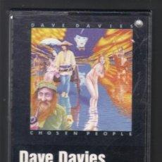 Casetes antiguos: CASETE - DAVE DAVIES - CHOSEN PEOPLE.. Lote 32727722