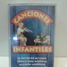 Casetes antiguos: CANCIONES INFANTILES. Lote 32808346