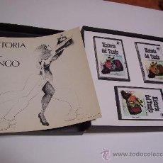 Cassette antiche: HISTORIA DEL TANGO - LIBRETO + CASETES - ARGENTINA 1984. Lote 33293618