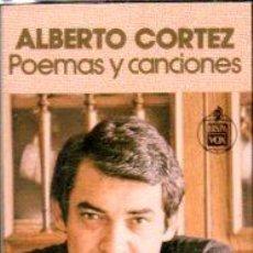 Casetes antiguos: CASETE ALBERTO CORTEZ, POEMAS Y CANCIONES, HISPA VOX C 1-030. Lote 33326963