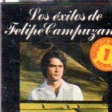 Casetes antiguos: CASETE LOS ÉXITOS DE FELIPE CAMPUZANO Y EDUARDO SOLANO BHC 341. Lote 33327424