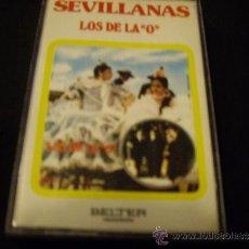 Cassetes antigas: SEVILLANAS-LOS DE LA O-BELTER-GUITARRISTAS PUCHERETE Y REMOLINO HIJO. Lote 33689778