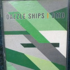 Cassetes antigas: ORCHESTRAL MANOEUVRES IN THE DARK (OMD) - DAZZLE SHIPS. Lote 34027608