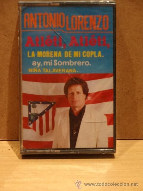 ANTONIO LORENZO. ATLÉTI, ATLÉTI.MC. SELLO KMC RECORDS. PRECINTADO. DIFÍCIL DE ENCONTRAR. (Música - Casetes)