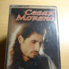 Casetes antiguos: CÉSAR MORENO. COMO UN POEMA. MC. SELLO PAPA MUSIC. PRECINTADO.. Lote 35605357