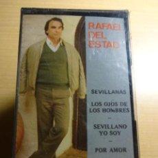 Casetes antiguos: RAFAEL DEL ESTAD. POR AMOR A SEVILLA. MC. SELLO PASARELA. PRECINTADO.. Lote 35605391
