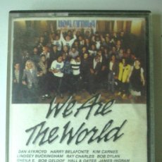 Casetes antiguos: WE ARE THE WORLD. USA AFRICA. 1985 CBS. Lote 35999024