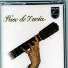 Casetes antiguos: PACO DE LUCIA INTERPRETA A MANUEL DE FALLA VERSIÓN ORIGINAL PRECINTADO. Lote 36101003
