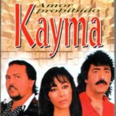 Casetes antiguos: KAYMA AMOR PROHIBIDO. Lote 36289181