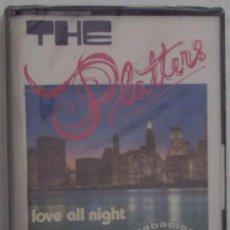 Casetes antiguos: THE PLATTERS: LOVE ALL NIGHT. REDIM 1982. PRECINTADA. Lote 36292282