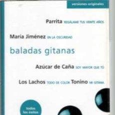 Casetes antiguos: BALADAS GITANAS PARRITA LOS LACHOS TONINO. Lote 36313330