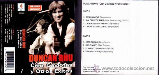 Casetes antiguos: duncan dhu -cien gaviotas y otros exitos-2000 - Foto 2 - 36365838
