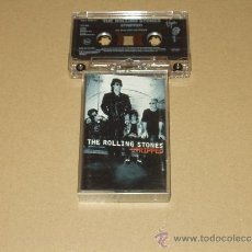 Casetes antiguos: ROLLING STONES CASSETTE STRIPPED. Lote 36425023