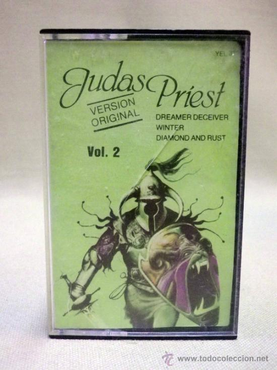 CASETE, JUDAS PRIEST, VOL 2, 1982 (Música - Casetes)