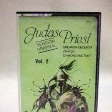 Casetes antiguos: CASETE, JUDAS PRIEST, VOL 2, 1982. Lote 36496789