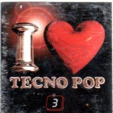 Casetes antiguos: CASETES TECNO POP Nº3. Lote 36917319