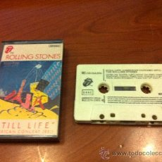 Casetes antiguos: THE ROLLING STONES - STILL LIFE (AMERICAN CONCERT 1981) - CASETE 1982 -. Lote 37031494