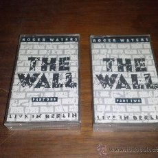 Casetes antiguos: CASETE DOBLE ROGER WATERS THE WALL LIVE IN BERLIN. Lote 83404402