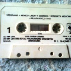 Casetes antiguos: LUIS COBOS - MEXICANO (CBS, 1984). Lote 37238304