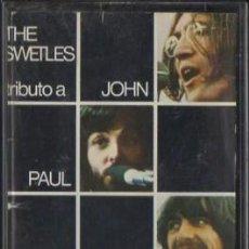 Cassetes antigas: EXITOS DE JOHN, PAUL, GEORGE & RINGO. CASE-11253. Lote 37908619