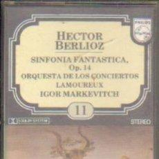 Casetes antiguos: HECTOR BERLIOZ. ENCICLOPEDIA SALVAT DE LOS GRANDES COMPOSITORES. Nº11. CASE-11282. Lote 179949278
