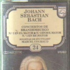Casetes antiguos: JOHANN SEBASTIAN BACH. ENCICLOPEDIA SALVAT DE LOS GRANDES COMPOSITORES. Nº24. CASE-11294. Lote 179949171