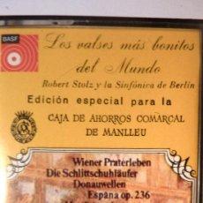 Casetes antiguos: CASETE.LOS VALSES MAS BONITOS DEL MUNDO. ROBERT STOLZ Y LA SINFONICA DE BERLÍN. 1976. Lote 37960225