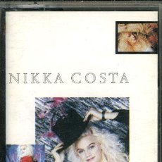 Casetes antiguos: NIKKA COSTA-LOCA TENTACION (EN ESPAÑOL) ¡¡PRECINTADO!! A ESTRENAR (CASSETTE 1989) SPÑ. Lote 37976847