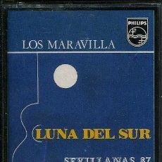 Casetes antiguos: LOS MARAVILLA-LUNA DEL SUR-SEVILLANAS 87 ¡¡PRECINTADO!! A ESTRENAR (CASSETTE 1987) SPÑ. Lote 37976911