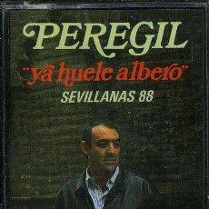 Casetes antiguos: PEREGIL - YA HUELE ALBERO-SEVILLANAS 88 ¡¡PRECINTADO!! A ESTRENAR (CASSETTE 1988) SPÑ. Lote 37977336