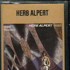 Casetes antiguos: HERB ALPERT - RISE ¡¡PRECINTADO!! A ESTRENAR (CASSETTE) ESPAÑA. Lote 37979669