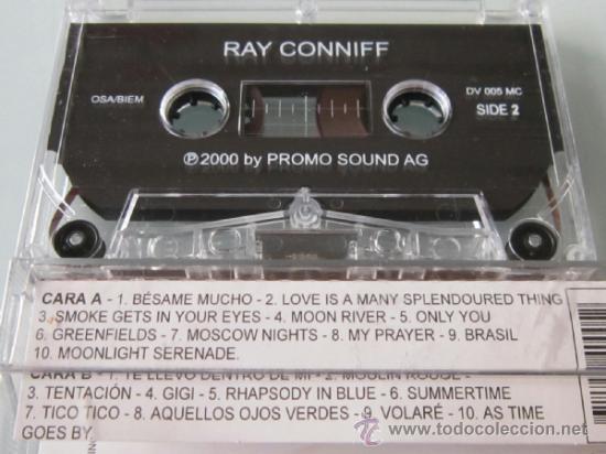 Casetes antiguos: RAY CONNIFF - GRANDES EXITOS - CASETE - PROMO SOUND 2000 CASSETTE - Foto 2 - 38370578