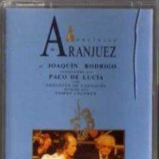 Casetes antiguos: CASETE - PACO DE LUCIA - RODRIGO - CONCIERTO DE ARANJUEZ - PHILIPS. Lote 38131376