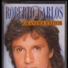 Casetes antiguos: CASETE - ROBERTO CARLOS - GRANDES ÉXITOS - EPIC. Lote 38165273