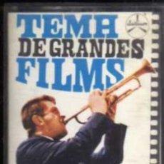 Casetes antiguos: CASETE - TEMA DE GRANDES FILMS - NINI ROSSO - PALOBAL-DURIUM. Lote 38165276