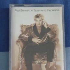 Casetes antiguos: A SPANNER IN THE WORKS. ROD STEWART. WARNER, 1995. Lote 38361859