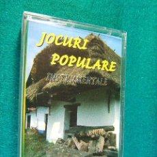Casetes antiguos: JOCURI POPULARE INSTRUMENTALE - CANTES Y MUSICA POPULAR Y TIPICA DE RUMANIA - 1996 - CASETES .... Lote 38391637