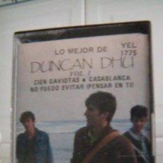 Casetes antiguos: LO MEJOR DE DUNCAN DHU. Lote 38836896