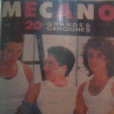 Casetes antiguos: MECANO 20 GRANDES CANCIONES. Lote 39029524