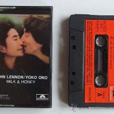 Casetes antiguos: BEATLES JOHN LENNON CINTA CASETE MILK & HONEY ESPAÑA. Lote 39042614