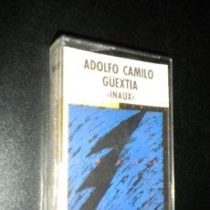 Casetes antiguos: CINTA CASSETTE PRECINTADO ADOLFO CAMILO GUEXTIA / INAUX / FONOASTUR. Lote 39087332