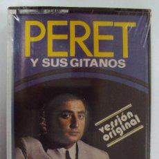 Casetes antiguos: PERET Y SUS GITANOS. DISCOPHON AÑOS 60. PRECINTADA. Lote 39114067