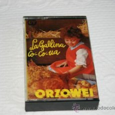 Casetes antiguos: LA GALLINA CO-CO-UA. ORZOWEI. VARIOS INTÉRPRETES. APOLO RECORDS. 1978.. Lote 39138646