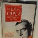 Casetes antiguos: MANOLO CARACOL. COMO CAMPANAS / LA COPLA. MC COLUMBIA 1991. SIN PRECINTO. A ESTRENAR.. Lote 39157406