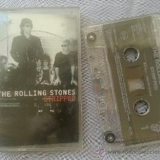 Casetes antiguos: THE ROLLING STONES- STRIPPED- AÑO 1995 - VIRGIN. Lote 39173618